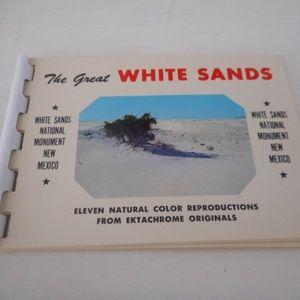 1960s White Sands New Mexico Ektachrome Booklet